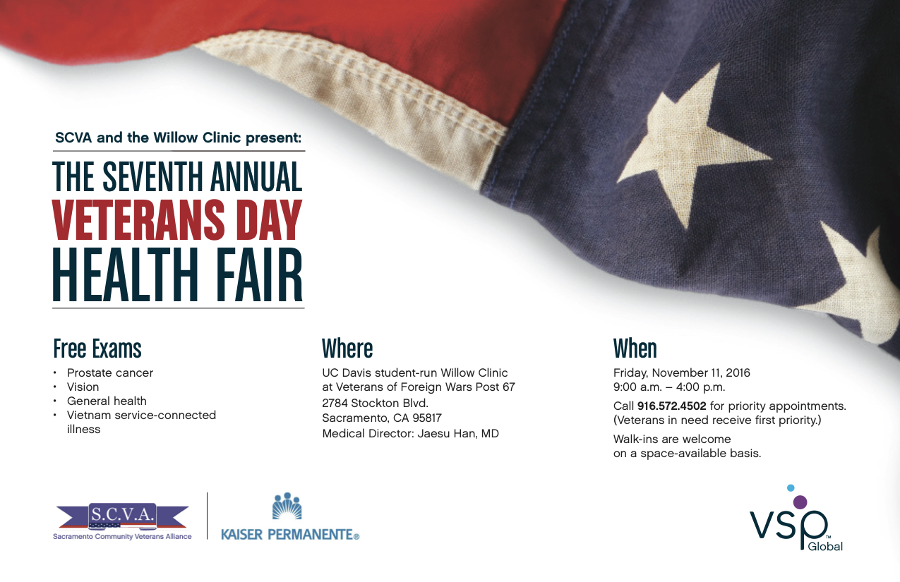 Veteran's Day Health Fair
